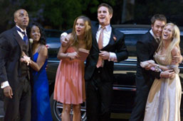Prom night limo service